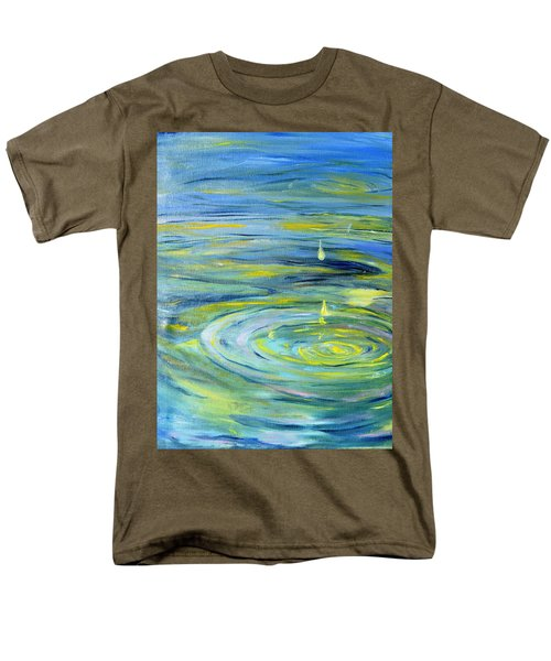 Relaxation Men's T-Shirt  (Regular Fit) by Evelina Popilian
