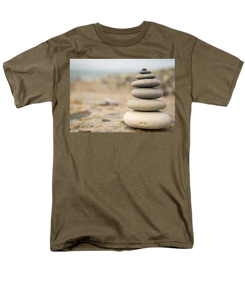Men's T-Shirt  (Regular Fit) featuring the photograph Relaxation Stones by John Williams