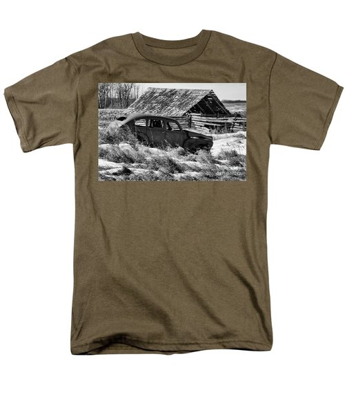 Remember The Past Work For The Future Men's T-Shirt  (Regular Fit) by Bob Christopher