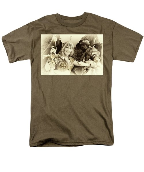 Renaissance Festival Barbarians Men's T-Shirt  (Regular Fit) by Bob Christopher