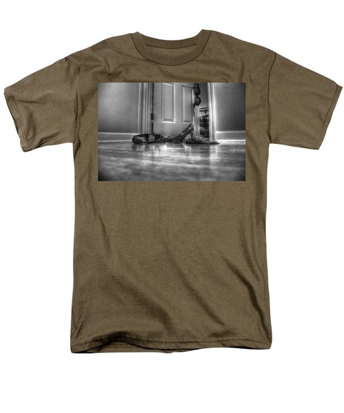 Men's T-Shirt  (Regular Fit) featuring the photograph Rendezvous Do Not Disturb 05 Bw by Andy Lawless