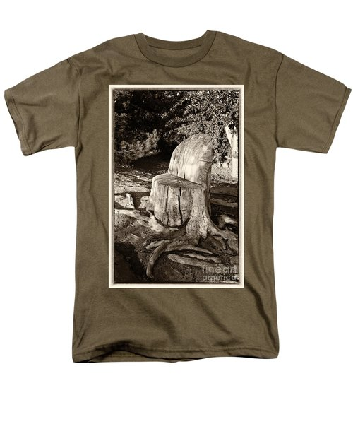 Men's T-Shirt  (Regular Fit) featuring the photograph Rest Stop by Vinnie Oakes