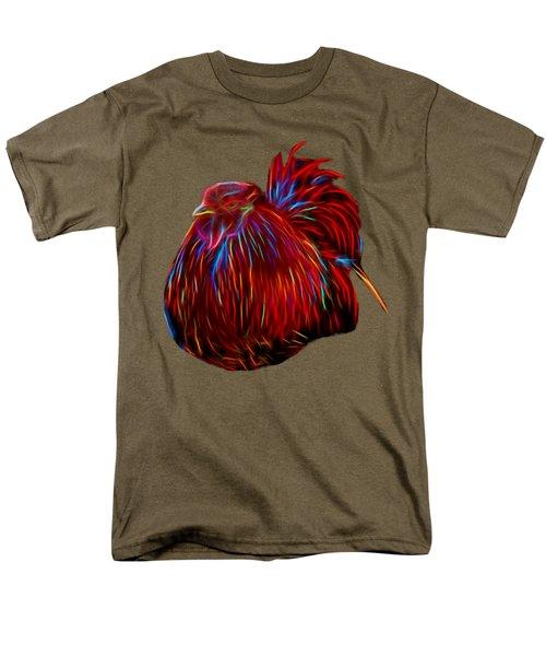 Resting Rooster Men's T-Shirt  (Regular Fit) by Pamela Walton