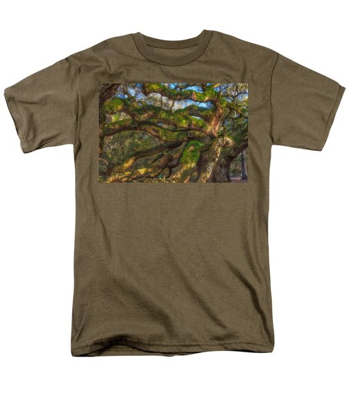 Resurrection Fern Dons Angel Oak Men's T-Shirt  (Regular Fit) by Patricia Schaefer