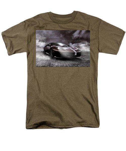 Retro Sports Car - Formule 1 Men's T-Shirt  (Regular Fit) by Yvon van der Wijk