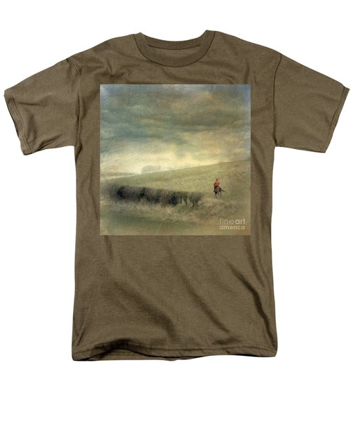 Rider In The Storm Men's T-Shirt  (Regular Fit) by LemonArt Photography