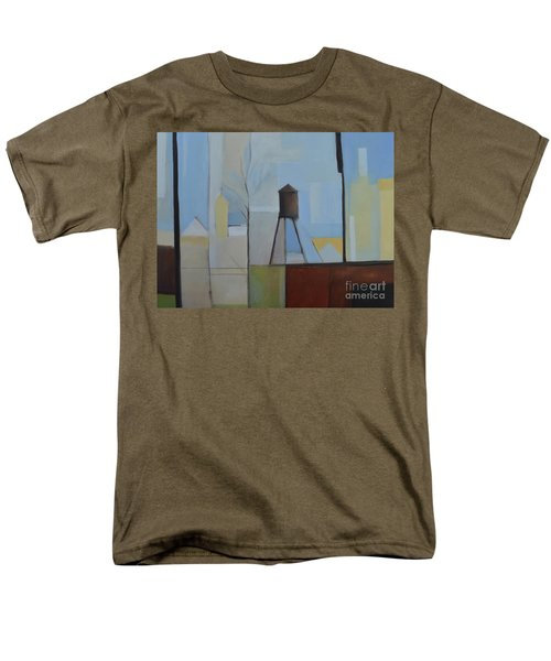 Ridgefield Men's T-Shirt  (Regular Fit) by Ron Erickson