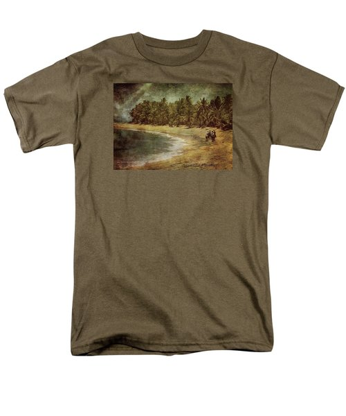 Riding On The Beach Men's T-Shirt  (Regular Fit) by Vittorio Chiampan
