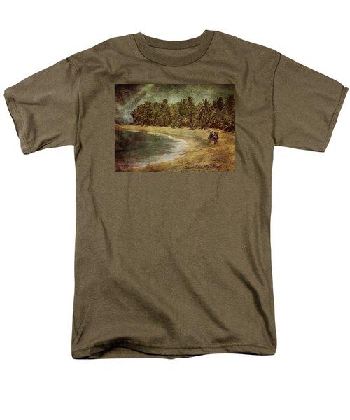 Riding On The Beach Men's T-Shirt  (Regular Fit)