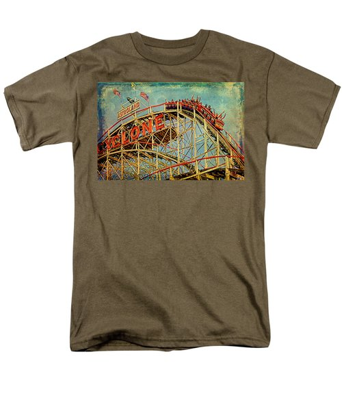 Riding The Cyclone Men's T-Shirt  (Regular Fit) by Chris Lord