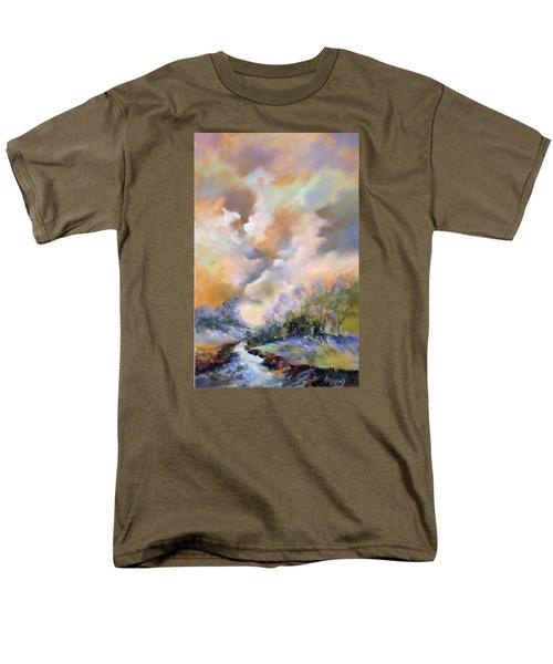 Rim Light Men's T-Shirt  (Regular Fit)
