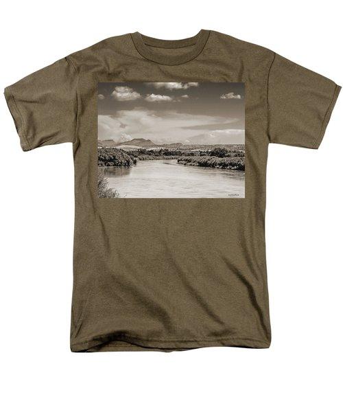 Rio Grande In Sepia Men's T-Shirt  (Regular Fit) by Allen Sheffield