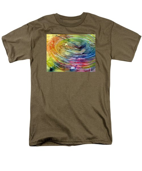 Men's T-Shirt  (Regular Fit) featuring the painting Ripples by Allison Ashton