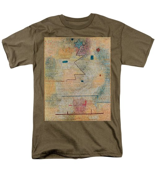 Rising Star  Men's T-Shirt  (Regular Fit) by Paul Klee