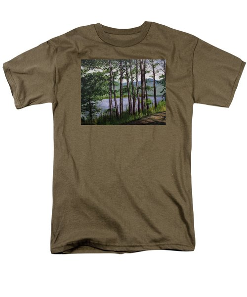 River Road Men's T-Shirt  (Regular Fit) by Ron Richard Baviello