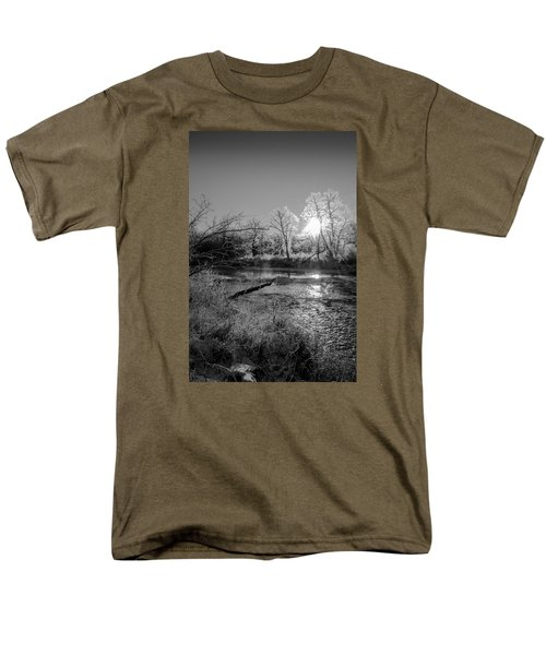 Men's T-Shirt  (Regular Fit) featuring the photograph Rivers Edge by Annette Berglund