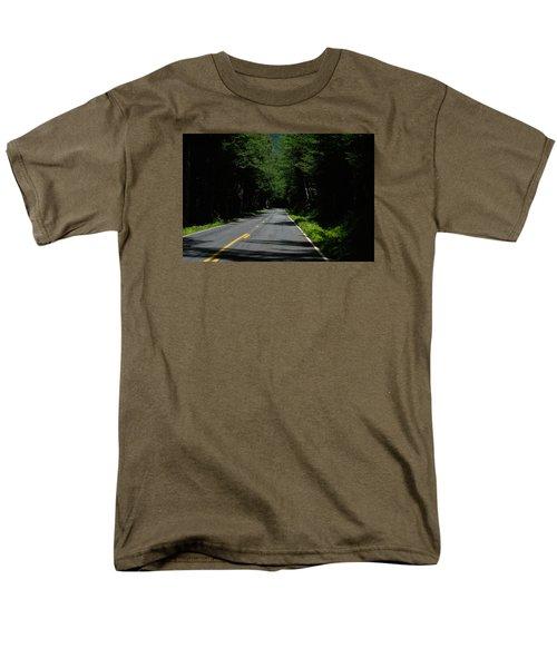 Road Leading To Where? Men's T-Shirt  (Regular Fit) by John Rossman