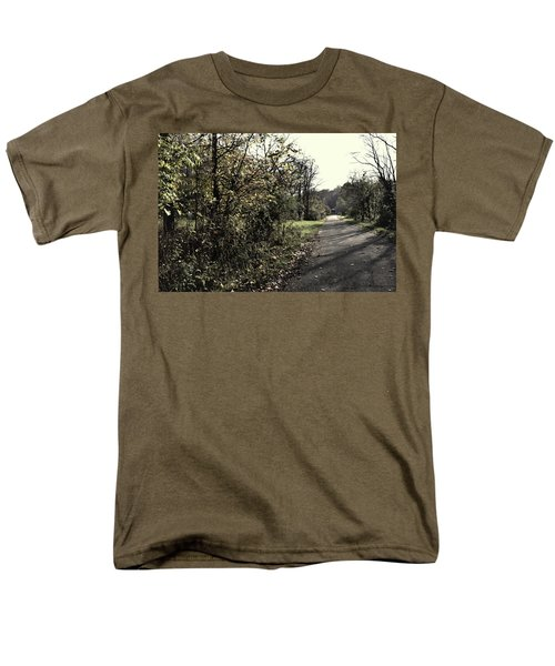 Road To Covered Bridge Men's T-Shirt  (Regular Fit) by Joanne Coyle