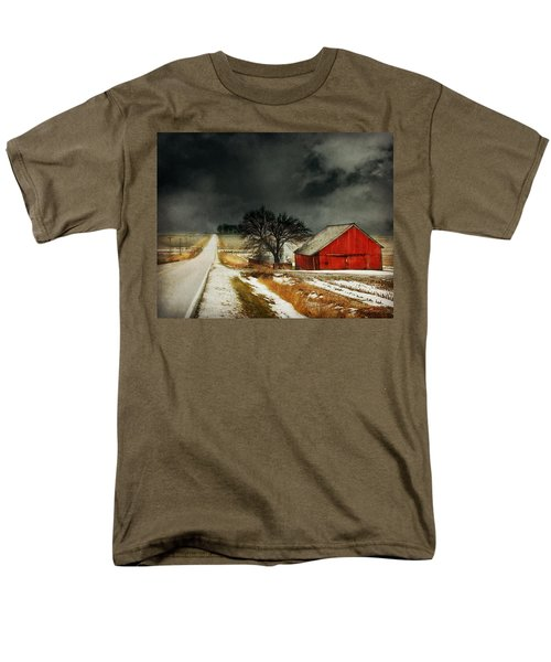 Men's T-Shirt  (Regular Fit) featuring the photograph Road To Nowhere by Julie Hamilton