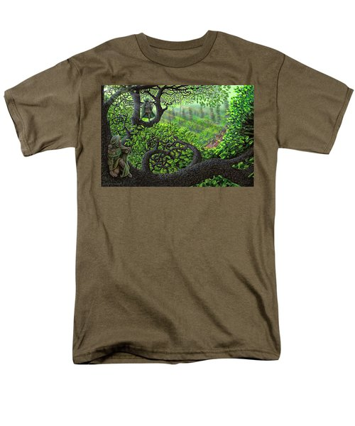 Robin Hood Men's T-Shirt  (Regular Fit) by Dave Luebbert