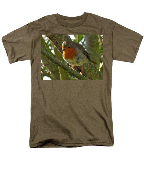 Robin In A Tree Men's T-Shirt  (Regular Fit) by John Topman