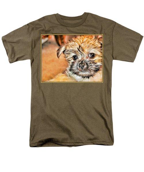 Men's T-Shirt  (Regular Fit) featuring the photograph Robin by Mindy Newman