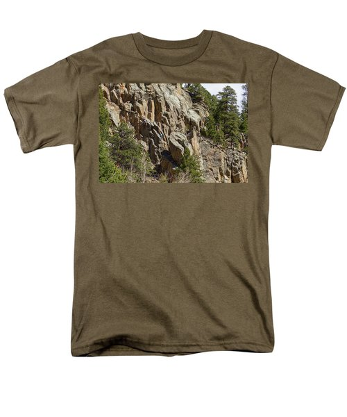 Men's T-Shirt  (Regular Fit) featuring the photograph Rock Climbers Paradise by James BO Insogna