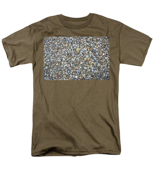 Men's T-Shirt  (Regular Fit) featuring the photograph Rocky Beach 1 by Nicola Nobile