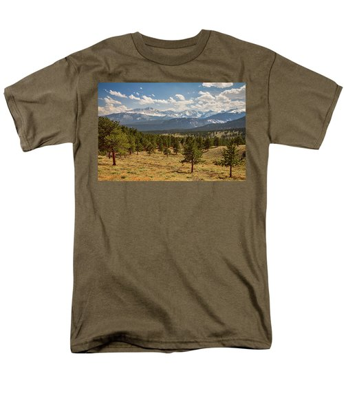 Men's T-Shirt  (Regular Fit) featuring the photograph Rocky Mountain Afternoon High by James BO Insogna