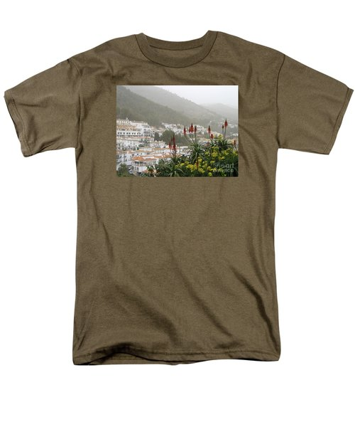 Men's T-Shirt  (Regular Fit) featuring the photograph Rojo In The Pueblos Blancos by Suzanne Oesterling