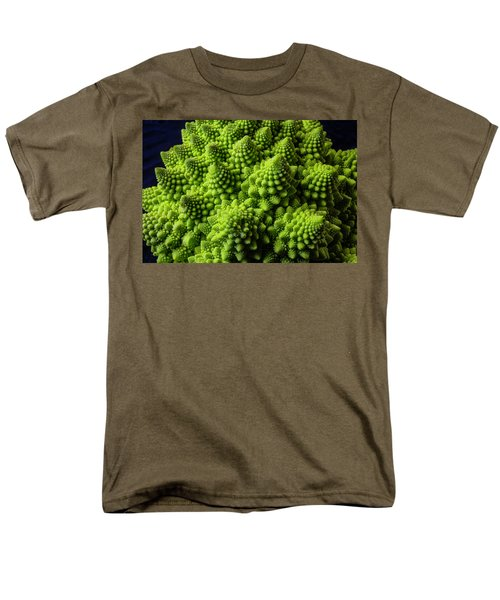 Romanesco Broccoli Men's T-Shirt  (Regular Fit) by Garry Gay