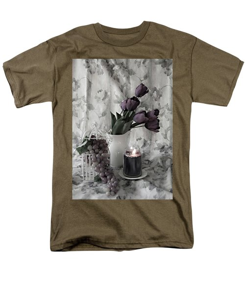 Men's T-Shirt  (Regular Fit) featuring the photograph Romantic Thoughts by Sherry Hallemeier