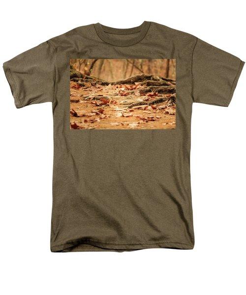 Roots Along The Path Men's T-Shirt  (Regular Fit) by Joni Eskridge