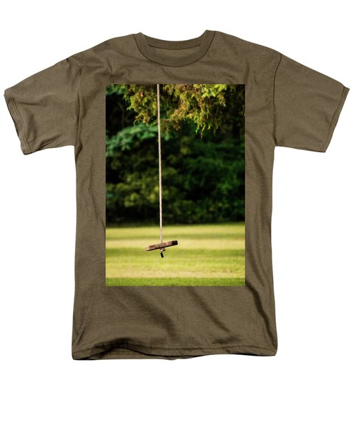Men's T-Shirt  (Regular Fit) featuring the photograph Rope Swing  by Shelby Young