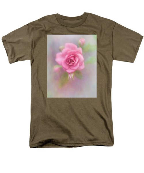 Rose Of Pink Men's T-Shirt  (Regular Fit) by David and Carol Kelly