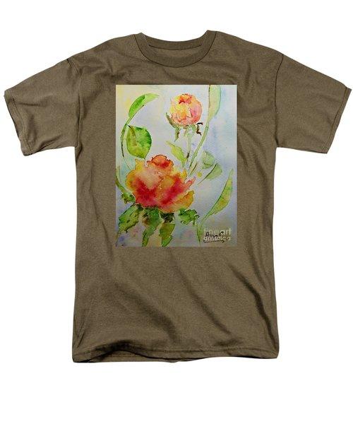 Roses  Men's T-Shirt  (Regular Fit) by AmaS Art