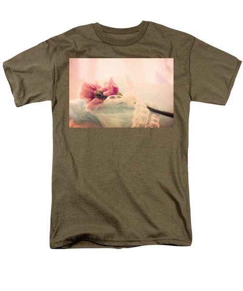 Roses And Lace Men's T-Shirt  (Regular Fit)