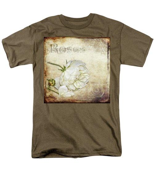 Roses Men's T-Shirt  (Regular Fit) by Carolyn Marshall