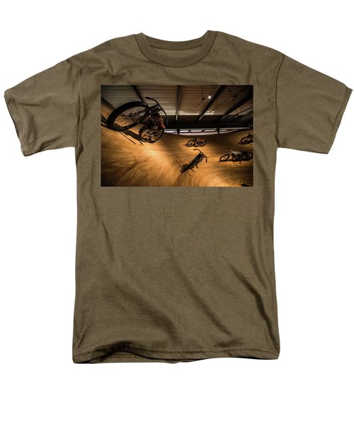 Men's T-Shirt  (Regular Fit) featuring the photograph Rounding The Bend by Randy Scherkenbach