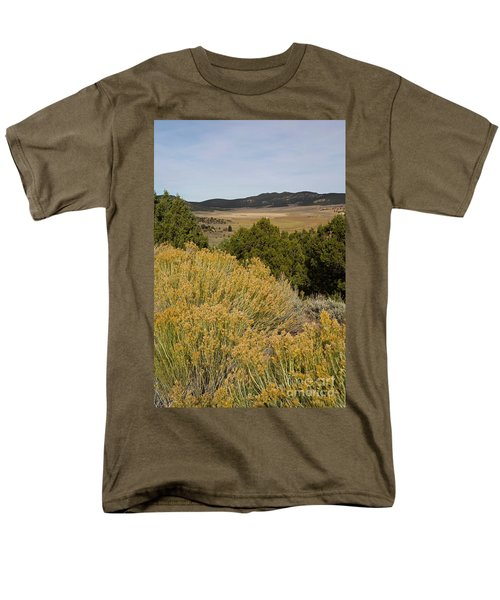 Rt 72 Utah Men's T-Shirt  (Regular Fit) by Cindy Murphy - NightVisions