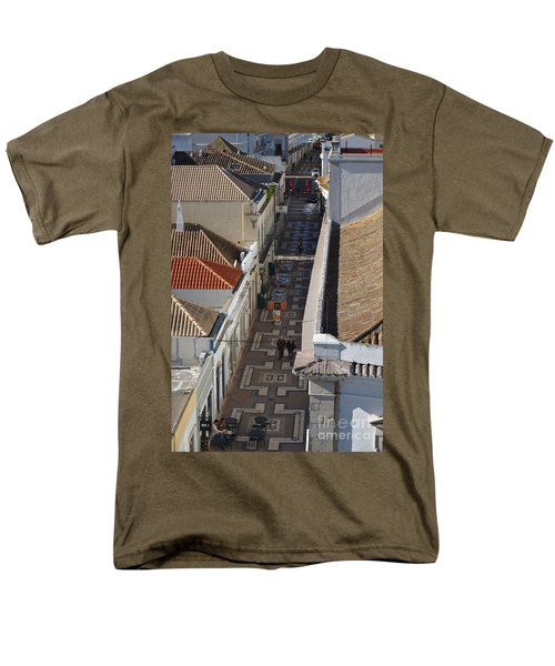 Rua Do Crime In Faro Men's T-Shirt  (Regular Fit) by Angelo DeVal