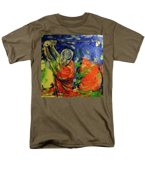 Rueckschwung   Backswing Men's T-Shirt  (Regular Fit) by Koro Arandia