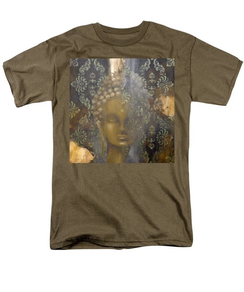 Men's T-Shirt  (Regular Fit) featuring the painting Ruined Palace Buddha by Dina Dargo
