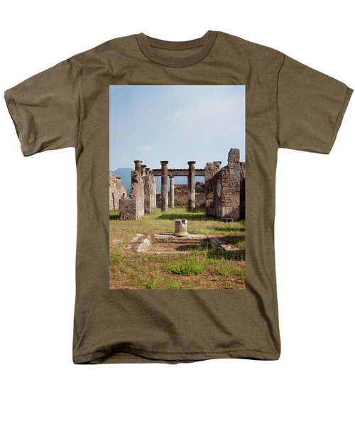 Ruins Of Pompeii Men's T-Shirt  (Regular Fit) by Ivete Basso Photography