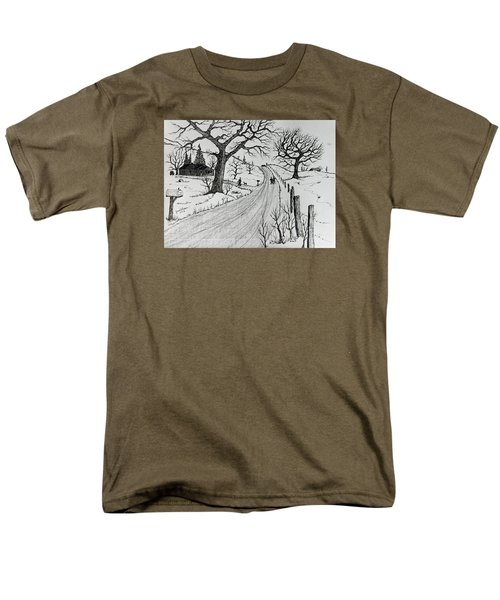 Rural Living Men's T-Shirt  (Regular Fit) by Jack G Brauer