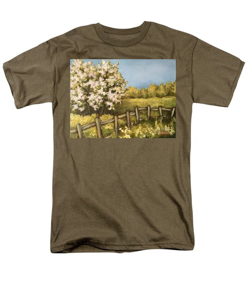 Rural Spring Men's T-Shirt  (Regular Fit) by Inese Poga