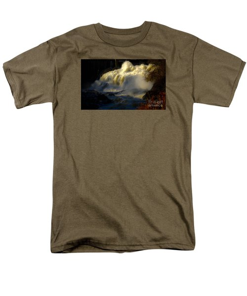 Rushing Water Men's T-Shirt  (Regular Fit) by Sherman Perry