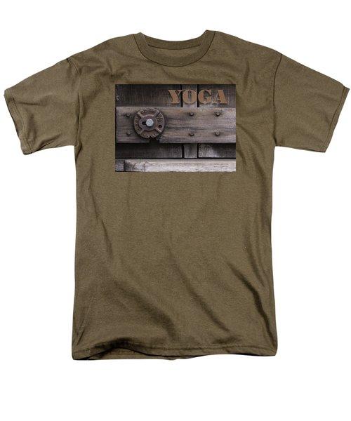 Rustic Yoga Men's T-Shirt  (Regular Fit) by Kandy Hurley