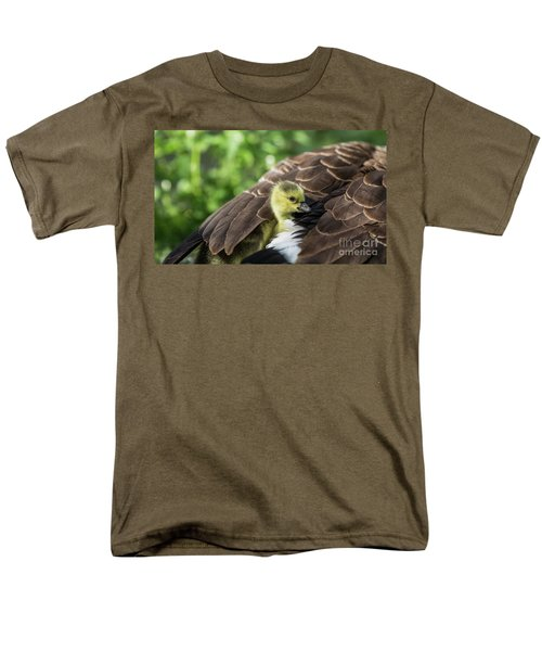 Safe Place Men's T-Shirt  (Regular Fit) by Eva Lechner