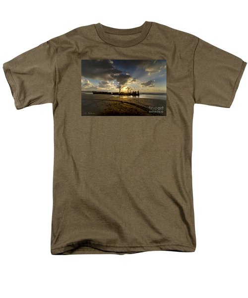 Safe Shore 04 Men's T-Shirt  (Regular Fit) by Arik Baltinester